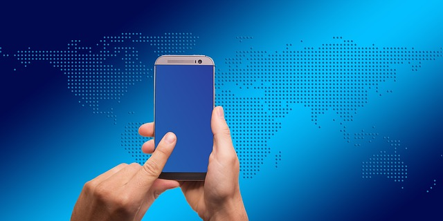 smartphone a kontinenty