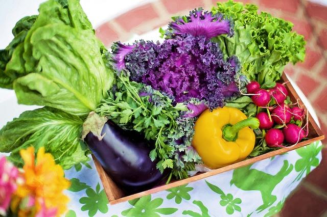 bedýnka zeleniny